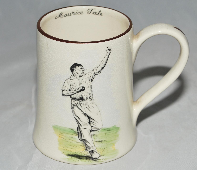 Cricketer Emblem 1 Pint Beer Glass Tankard Sports Present FREE UK POSTAGE 89